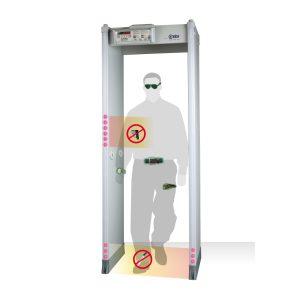 The popular HI-PE Plus Multi-Zone Metal Detector